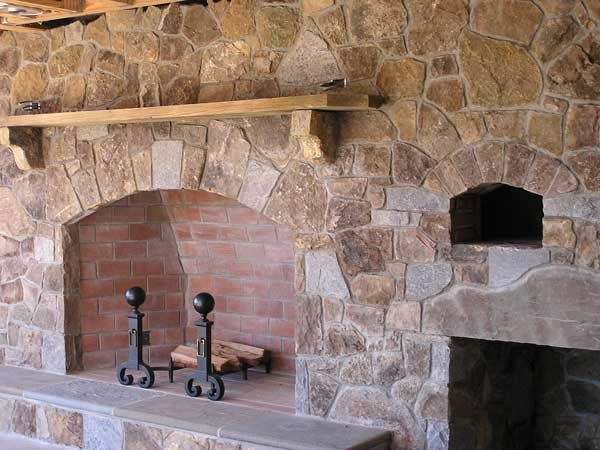 Flagstone Fireplaces Home Design
